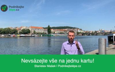 Nevsázejte vše na jednu kartu | Stanislav Mašek